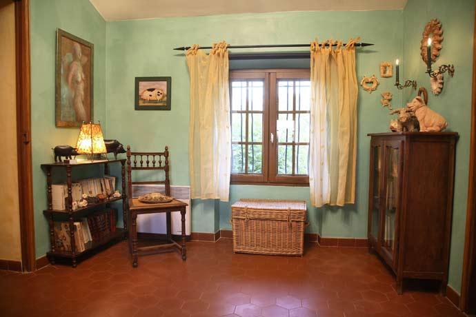 Vallat Sableux - soverommene i feriebolig i Provence